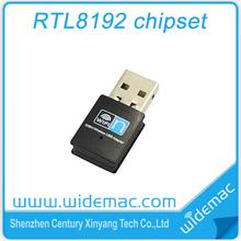 300M realtek8192cu wireless usb lan adapter/wifi dongle usb wireless with internal antenna