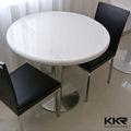 artificial de mármol de piedra mesa de café para mesa de comedor