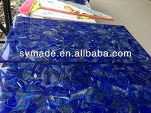 Polished semi precious stone blue lapiz lazuli grade AA