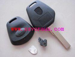 Pors 1 button remote key blank with hu66 blade