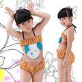 conejo lindo niños niñas traje de baño