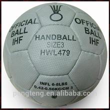 customized official size 3 hand sewn pu handball
