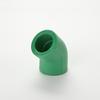 PPR Pipe Fittings Elbow 45 DEGREE 45 degree pvc elbow