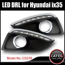 LED DRL with fog light frame for Hyundai ix35S SE SE Nav Premium Panorama 1.6 GDi 2WD 1.7 CRDi 2.0 4WD 2012 2013 2014
