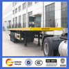 hot sale container transport flat top trailers for sale