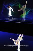 Large Eyeliner Foil/Stage Holographic/3D Stage Hologram/Holographic Projection System for Concert&Fashion Show