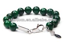 Classic style! Bracelet dyed jade