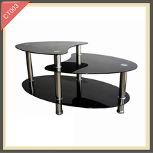 costco furniture gold plated exotic coffee table