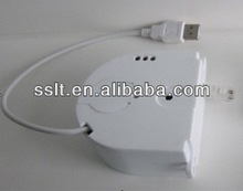 Effective retractable electric wire wall anti-theft alarm
