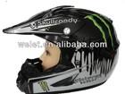 Cross helmet, Motorcycle helmet WLT-125 Black/ 4#