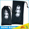 hb369 libero elegante modello di stampa panno di pulizia del microfiber sacchetto