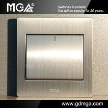 MGA Q9 1 Gang 1 Way rocker switch 2014 New product