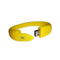 oem thin bracelet shaped usb flash drive
