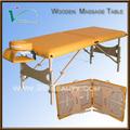 Holz zurück Massage/klapptisch beine