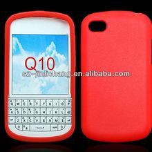 for Blackberry Q10 silicone case