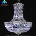 decorar moderna lámpara de araña de cristal de egipto