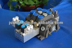 DCV60 ,sectional control valves,pneumatic control valves