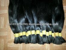 2014 New Straight 100% Virgin Brazilian Human Hair Flip in Halo Hair Extensions