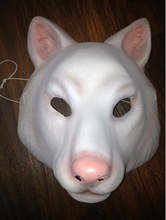 "Plastic fox mask for the US movie ""You're Next"""