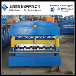 JCX 2-4m/min 5 rib 5 rib galzed tile roof panel corrugated machine