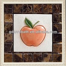 new design apple stone marble floor design pictures