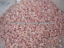 chiedo a colori sale himalayano pezzi e grumi di sale per fare blocchi di sale lampade