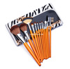 Novelty cosmetic brush set with 12pcs