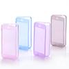 Cheap price Soft Gel TPU Transparent Clear Flip Full phone Case For iPhone 5 5S