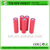 Most popular tob 18650 3.7v 2000mAh rechargeable battery with RHOS certify