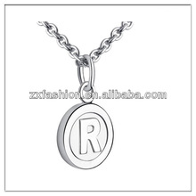 promotion custom letter necklace initial necklace