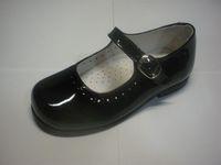 Dress patent shoes