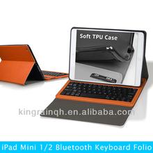 OEM Factory Lowest Price Bluetooth keyboard case for iPad Mini Retina