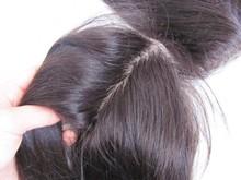 Top quality cheap 100%human hair in stock brazilian hair silky striaght hair lace closure