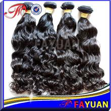 Fayuan high quality grade AAAAAA 100% virgin cheap raw unprocessed deep wave brazilian human hair bulk