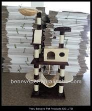 wholesale cat trees house wooden cat scratcher
