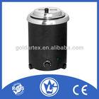 5.7L Electric Heating Soup Kettle,Buffet Soup Pot with CE CB LFGB