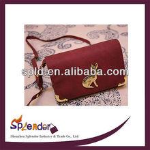 Value new retro metal rabbit mini packet shoulder bags ladies handbags
