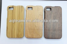 Different Wooden and separable simple + openhanded design case for Blackberry z10