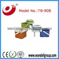 360 folding bucket spin mop,360 spin mop bucket,plastic mop bucket