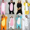 OEM service/new models wholesale cheap fleece cartoon hooded adult onesie/fleece funny girls costume