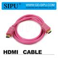 Sipu de alta velocidad por cable hdmi 1.3v 3d 1080p de oro se conecta