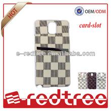 new mobile card holder design for Samsung s4 casing cover