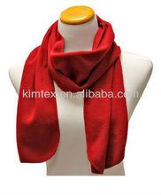 Red Polar Fleece Scarves