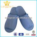 Confortable bleu hôtel anti statique pantoufles