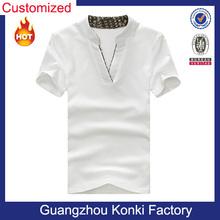 Custom Brand T Shirt Design Organic Cotton T Shirt