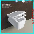 venta caliente moderno de cerámica de la pared wc sanitaria equipo
