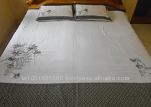 Embroidered Pure Cotton Bedsheet