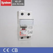 DX 2P rccb circuit breaker