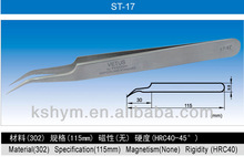 Super High Precision Stainless Steel Tweezers ,ST Series (ST-17)