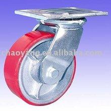 heavy duty caster PU wheel with Al core